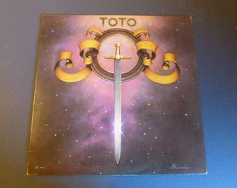 Toto Vinyl Record LP JC 35317 Columbia Records 1978