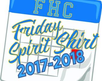 FishHawk Creek Elem. 2017-2018 Uniform Spirit shirt/ Color & Design TBA