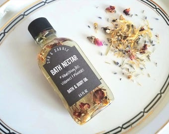 Flower Bath and Body Oil