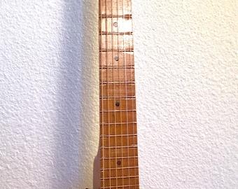 Vintage Electrified Guitar Banjo Homemade and Weird Banjotar Circuitbent