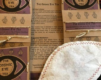 The Cosmic Eye - hand blended Reiki infused herbal tea for Intuition