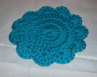 Crochet coaster