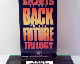 Secrets of the Back to the Future Trilogy VHS