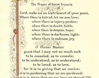 The Prayer of Saint Francis