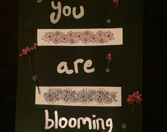 Blooming Collage