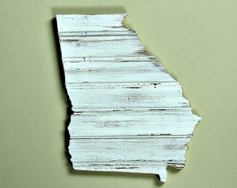GEORGIA State Wood Wall Decor | Cottage Decor | Beach Decor | Gallery Wall | Perfect Gift for Any Occasion | Mini Size