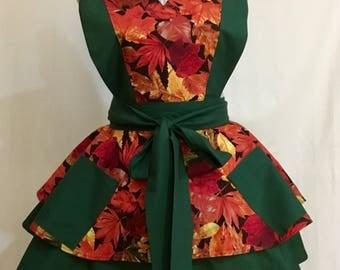 Retro style apron