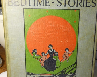Mother Bedtime Stories 1909 w/86 Illustrations, A Must See!!