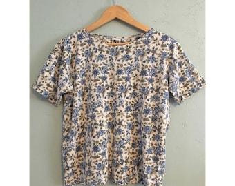 90's Floral Shirt