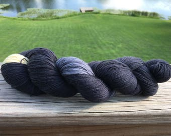 Lyanna Mormont, Inspired by Game of Thrones tv show, Knit and Fiber Creation Tough Love Sock Yarn