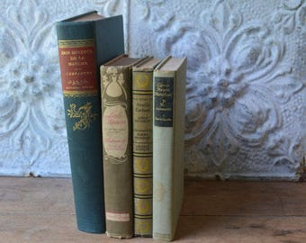 Vintage Collection Of Classic Books Don Quixote, Amelia Earhart, Captain Horatio Hornblower, Little Woman