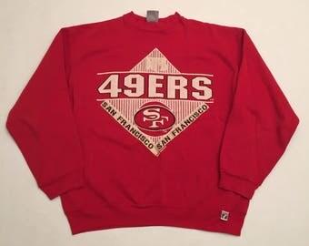 Vintage San Francisco 49ers Crew Neck Sweatshirt