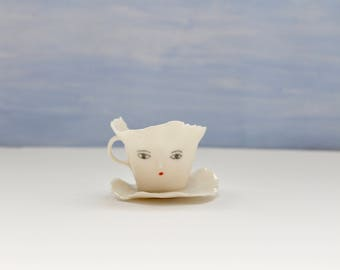 Mini ballerina Paper porcelain cup - Collectibles