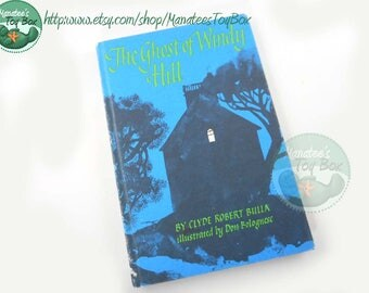 The Ghost of Windy Hill Vintage Kids Chapter Book 1960s