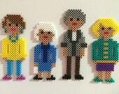 Golden Girls magnets (set of 4)