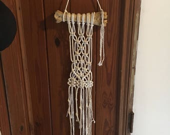 Cow Bone Macrame Wall Hanging