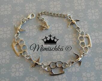 bracelet swallow hand knuckle