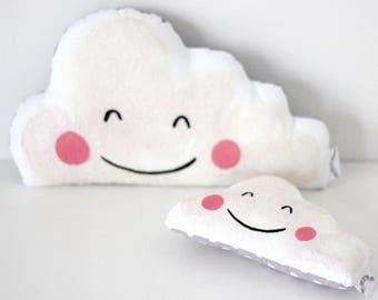 Custom order for Charlotte ~ Happy Cloud  Rattle