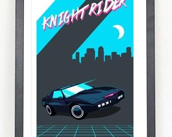 Knight Rider poster print