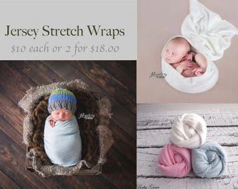 Newborn Stretch Wrap, Newborn Photo Prop, Fabric Stretch Knit Wrap,Photography Prop, Newborn Wrap, Newborn Swaddle Prop, Stretch Knit Fabric