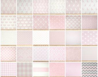 Nursery Curtains  Drapery Panels  Bella Pink Curtains  Pink Baby Girl  Decor  Valance