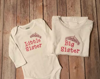 Big and Little Sister Shirts