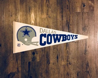 Vintage Dallas Cowboys Pennant