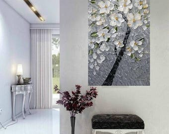 """SALE Original 36"""" gallery canvas Abstract painting,Original comtemporary Art,lots of texture Ready to hang  by Nicolette Vaughan Horner"""