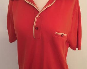 Men's Stetchy Polo Shirt Large