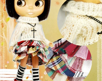 Clearance Sale - YAN - Layered Cake Skirt for Blythe doll