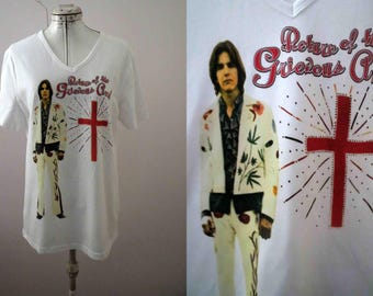 Gram Parsons T Shirt Medium Large- Only one size available