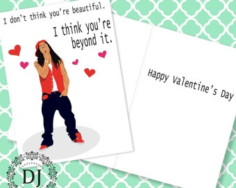 Lil Wayne Valentine's Day Card