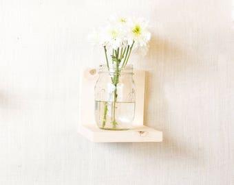 RESERVED for Hayley - Floating Shelves - Simple Shelf - Wall Storage - Bookshelves - Natural Wood