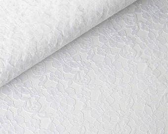 """White Lace Table Runner White Table Runner  14"""" WIDE - SELECT A SIZE For Length - more colors available"""