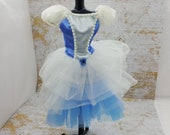 Barbie Frilly Blue Party dress fashions Outfit 11 inch doll