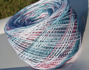 Lizbeth Tatting Thread -  Hand Dyed - Size 10 - Casual Friday - Your Choice of Length - Small Project Size