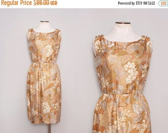 MOVING SALE 1950s Party Dress / Vintage 50s Silk Dress / Size Small