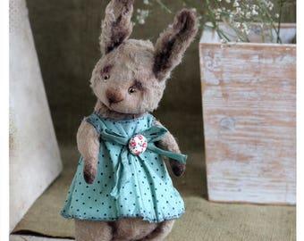 Artist Teddy Сute Summer Bunny 15 cm 6 inch