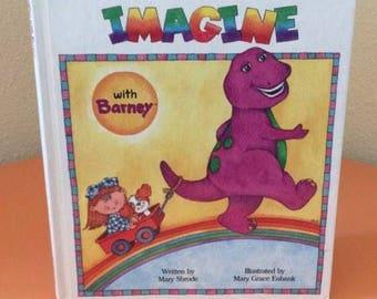 Vintage Barney Book - 1992