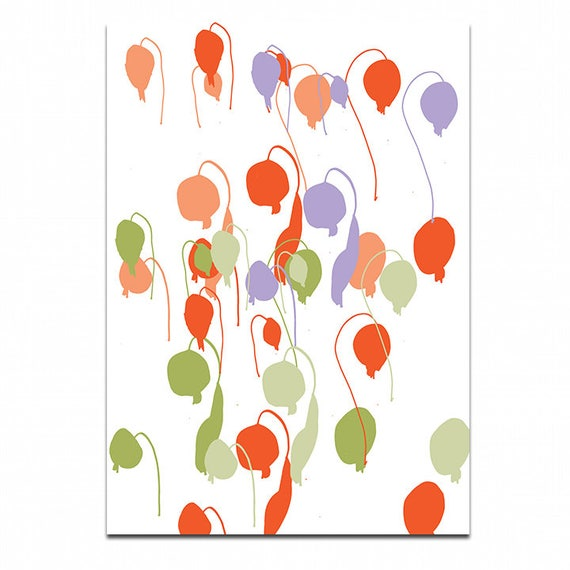 Dainty  A3 wall art Print.Botanical  Poster Illustration. wall decor.gift