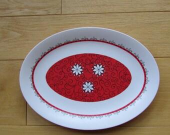 Oneida Deluxe Melmac Melamine Serving Platter