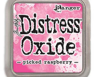 SALE Tim Holtz Distress Oxide Picked Raspberry Ink Pad,  TDO56126, Stamping, Papercrafting,Scrapbook