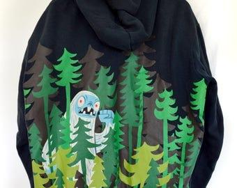 """Gama-Go """"Yeti"""" -hoodie"""