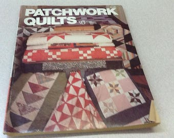 Patchwork Quilts 123 Pattern book