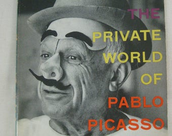 Vintage 1958 The Private World of Pablo Picasso Book