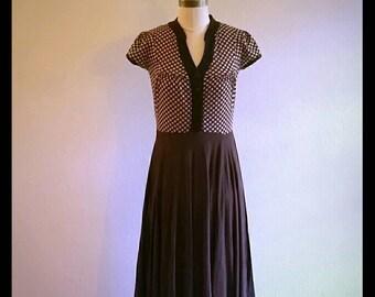 "Upcycled dress ""vintage style"" dress"