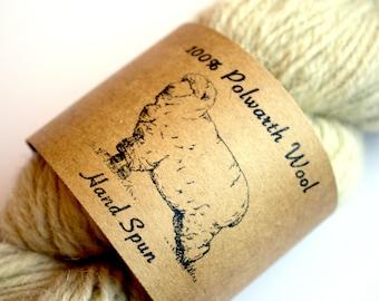 Wraparound Labels for Polwarth Hand Spun Yarn- Printable PDF