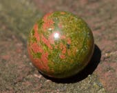Unakite meditation sphere HP015