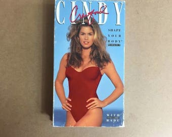Cindy Crawford - Shape Your Body Workout (VHS, 1992)