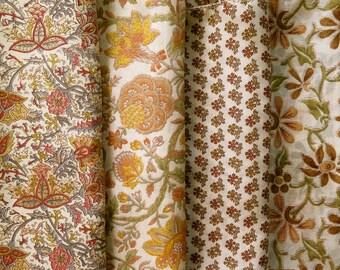 Fat Quarters, Silk Fabric, Sari Silk, FQ 186